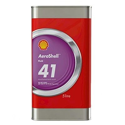 Aeroshell Fluid 41 5Lt Can